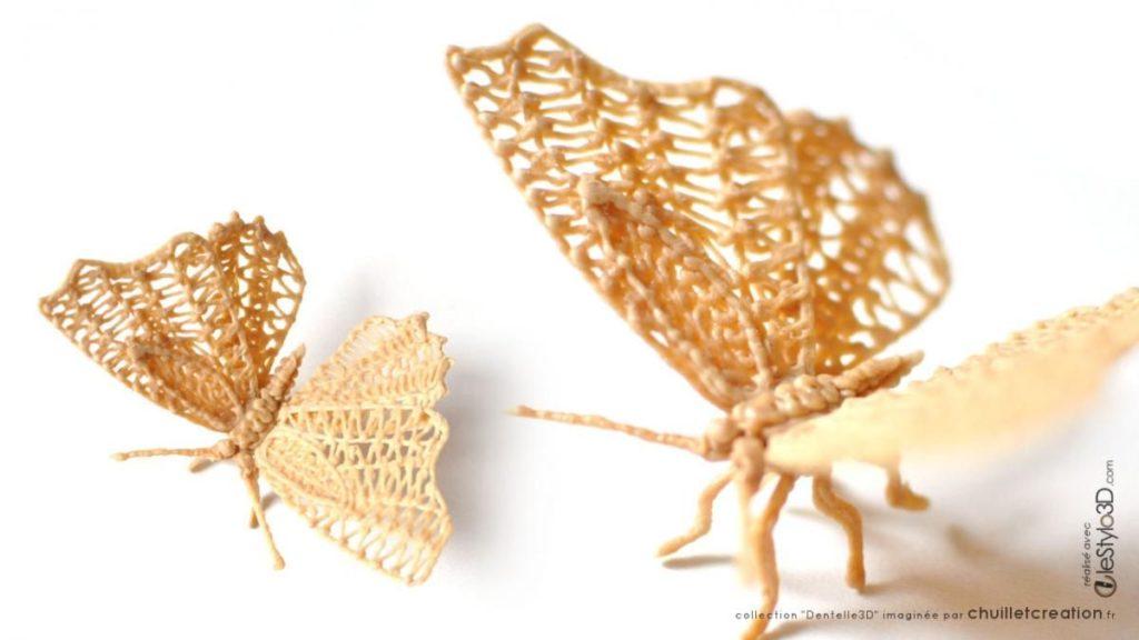 Dessin 3d de papillon - LeStylo3D