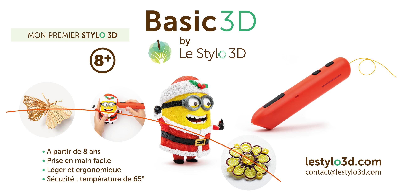 Stylo 3D pour enfants